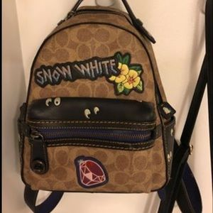 Coach Disney collection book bag